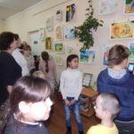 Прошла выставка «Дети рисуют православную книгу»