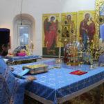 В храме с.Доскино состоялось праздничное богослужение