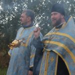 21 сентября совершился крестный ход от храма святого князя Владимира села Сартаково до строящегося храма святого Спиридона Тримифунтского в селе Новинки